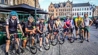 Brugse Biker Boyz fietsen naar Bazel