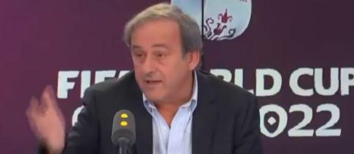 Michel Platini est de retour sur la scène médiatique