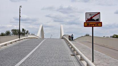 Grensbrug dicht tijdens België-Frankrijk