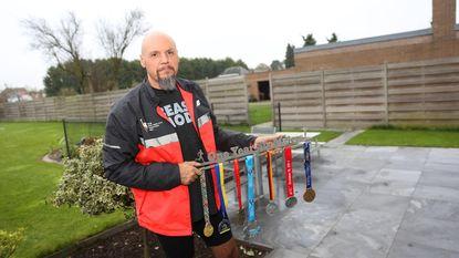 Geert Dierickx loopt zes marathons in minder dan een jaar