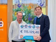 Medewerkers MSD halen 115.000 euro op voor KiKa