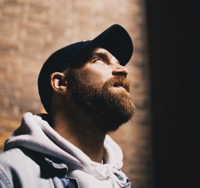 Tilburgse rapper Tim van Dongen, alias Timm.