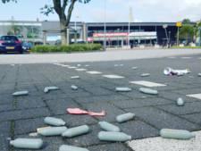 Meer controles op lachgas in Harderwijk 'Het ligt bezaaid met lachgaspatronen'