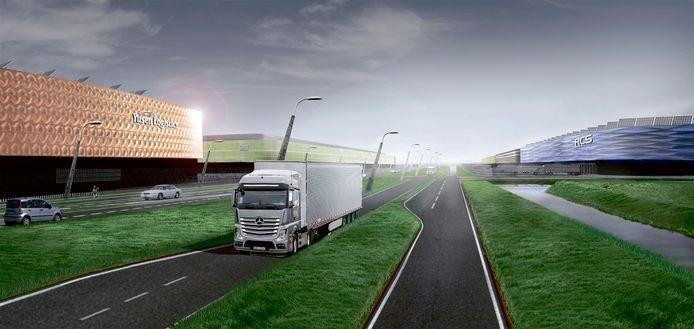 De aankoop van boerenbedrijven om Logistiek Park Moerdijk mogelijk te maken kan per saldo leiden tot meer stikstof in de natuur.