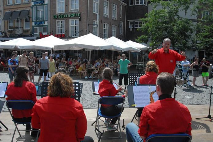 Dirigent Jan Danckaert had de boel aardig onder controle.