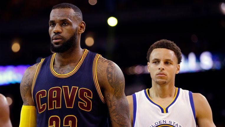 Net als vorig jaar staan LeBron James en Stephen Curry tegenover mekaar in de NBA Finals.