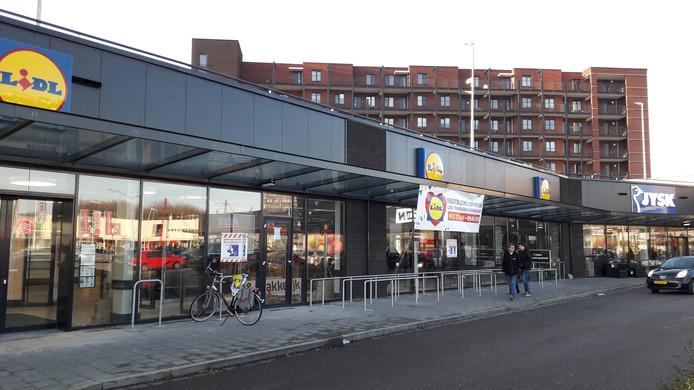 Nieuwe Lidl-vestiging in Terneuzen, in winkelcentrum Kennedylaan-West, waar eerder Agrimarkt zat.
