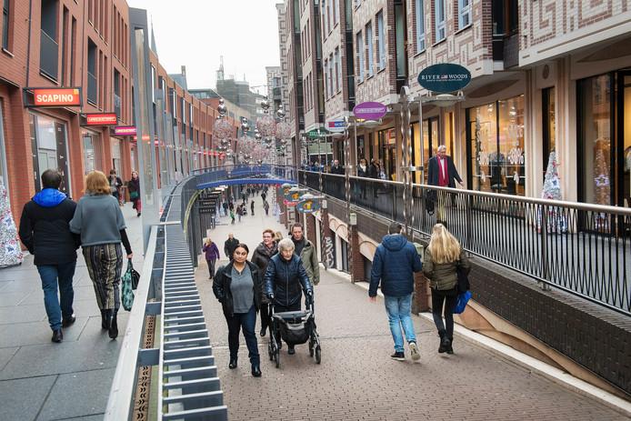 De Marikenstraat in Nijmegen.