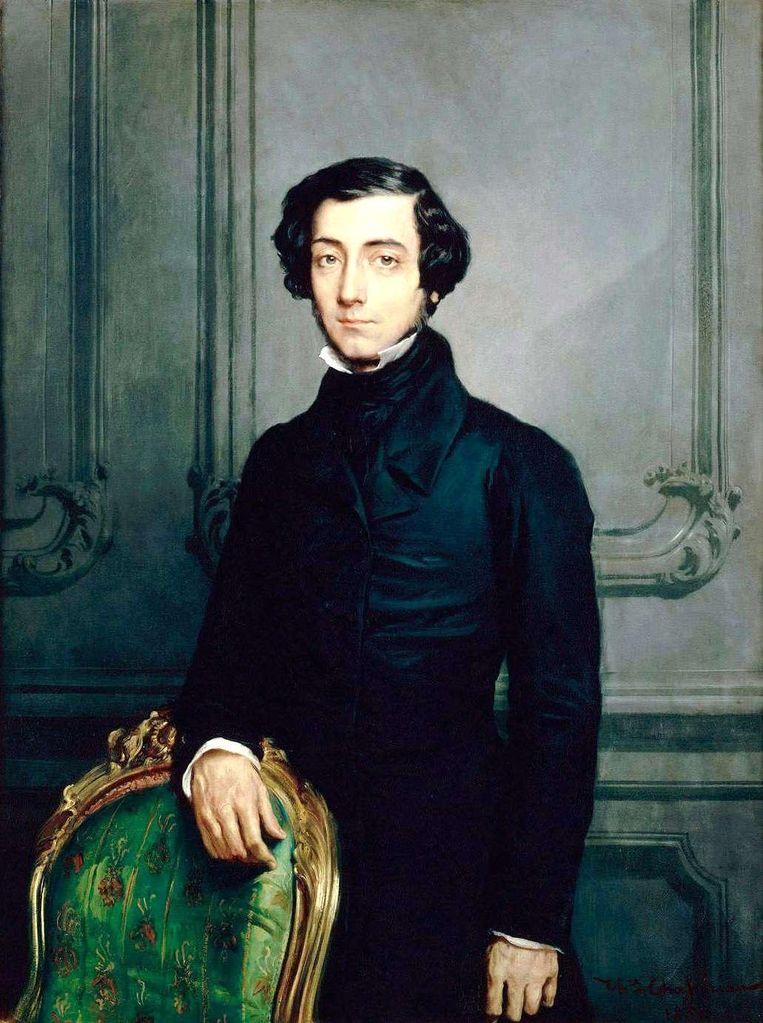 Al in 1835 schreef de Franse filosoof Alexis de Tocqueville over het belang van 'intermediaire' instellingen. Beeld