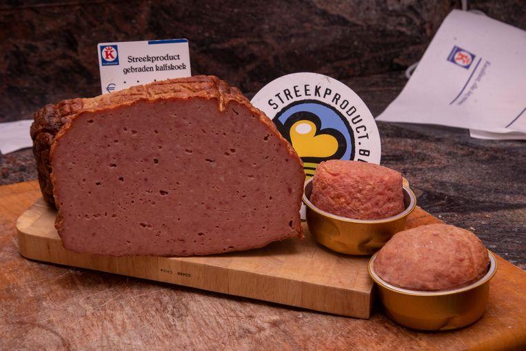 Gebraden Kalfskoek van Schalck in Wetteren is een erkend streekproduct.