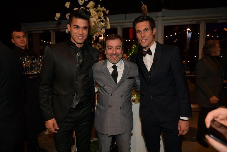 Hamdi Harbaoui, Mogi Bayat en Jeremy Perbet.