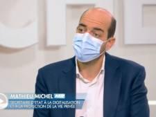 """Mathieu Michel revient sur son bug en néerlandais: """"Il est important de faire l'effort"""""""