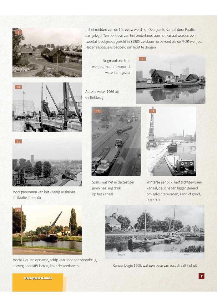 Een pagina uit het nieuwe standaardwerk voor Raalte. Waarvoor nog wel even 216 plaatjes verzameld moeten worden via de Jumbo.