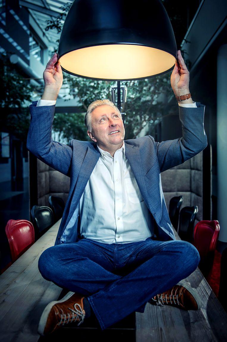 'VTM werd onthaald als de bevrijder: de Vlamingen waren opgelucht dat ze van de saaie, stoffige openbare omroep af waren' Beeld Geert Van de Velde