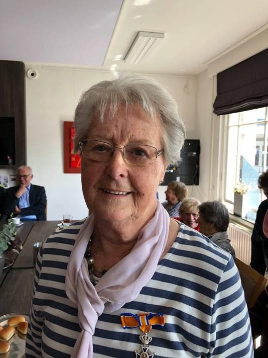 Jacoba van Engelen-Martens (81) Lid in de Orde van Oranje-Nassau