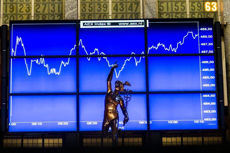 De Amsterdamse aandelenbeurs. Beeld ANP