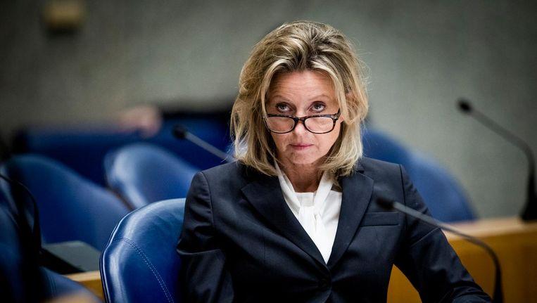 Minister Kajsa Ollongren van Binnenlandse Zaken en Koninkrijksrelaties in de Tweede Kamer Beeld Freek van den Bergh / de Volkskrant