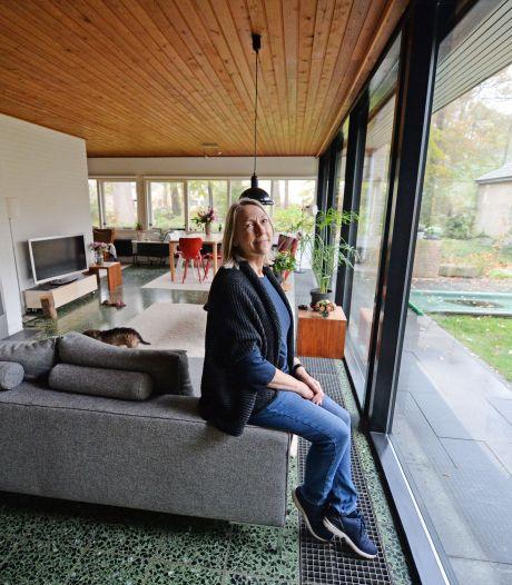 Willemien woont in een huis dat haar vader ontwierp: 'Een huis van hem voelt als een warme jas'
