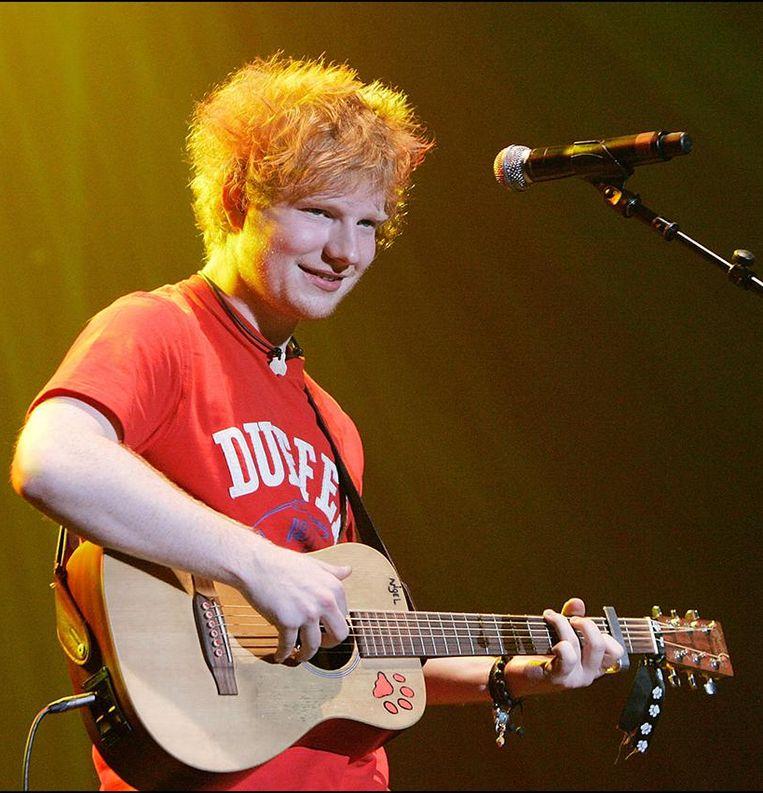 In 2011 was er nog geen enkele tattoo bij Ed Sheeran te bespeuren.