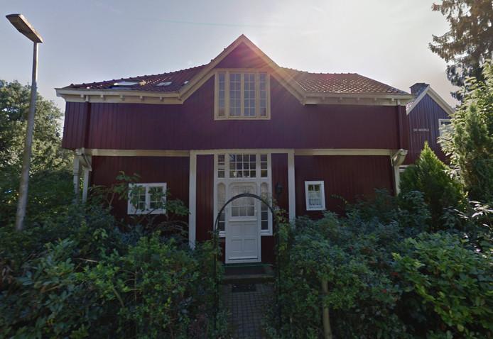 De houten villa aan de Verhulstlaan in Bussum.