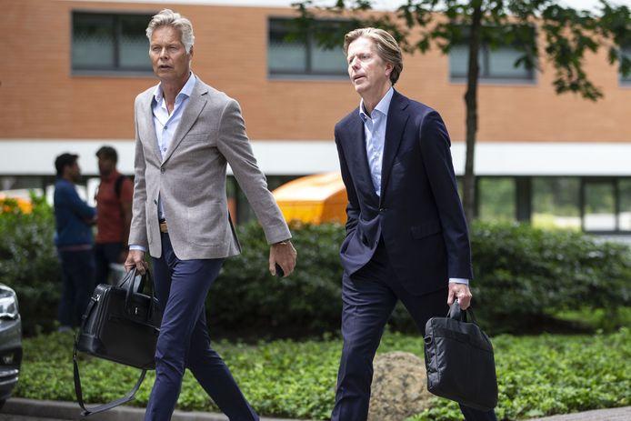 Jan de Jong (rechts).