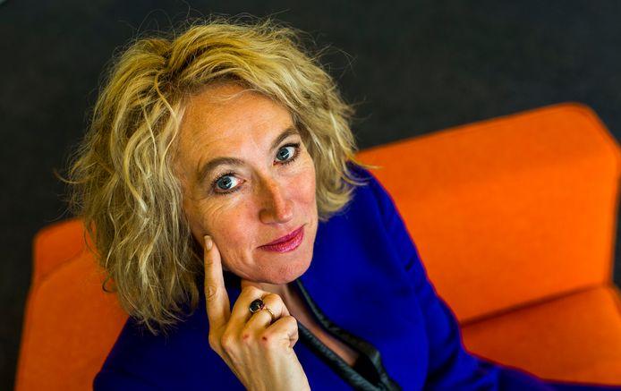 Ceo Herna Verhagen van PostNL.