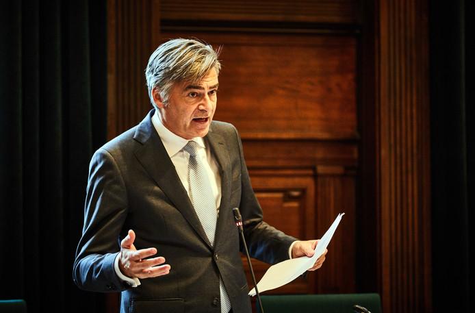 Wethouder Adriaan Visser.