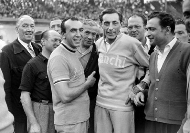 De legendarische Fausto Coppi.