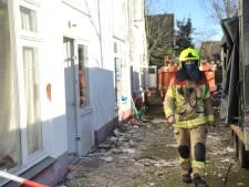 Gaslek in pand Renkum waar vorig jaar grote brand woedde