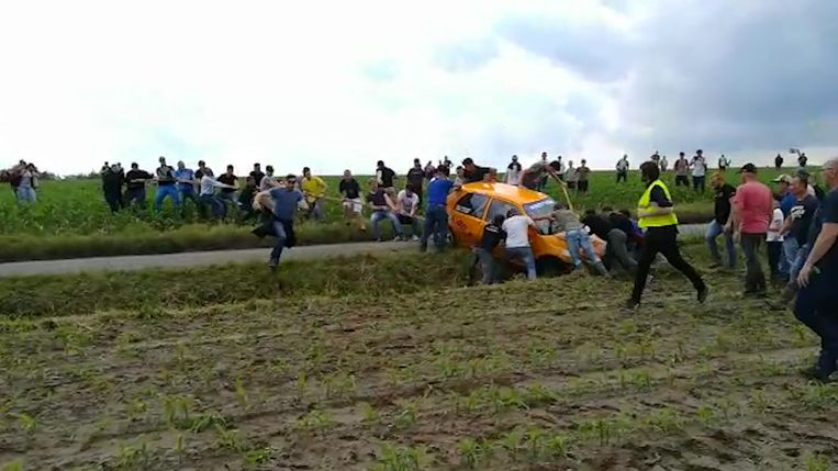 Rally in Wervik