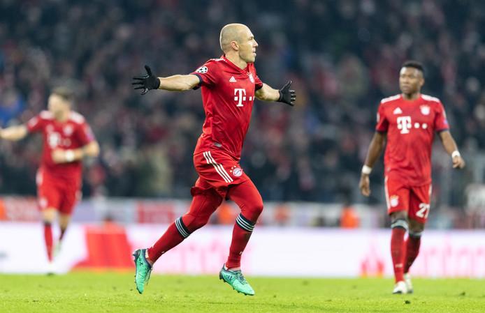 Arjen Robben bij Bayern München, de kapitaalkrachtigste club van Duitsland