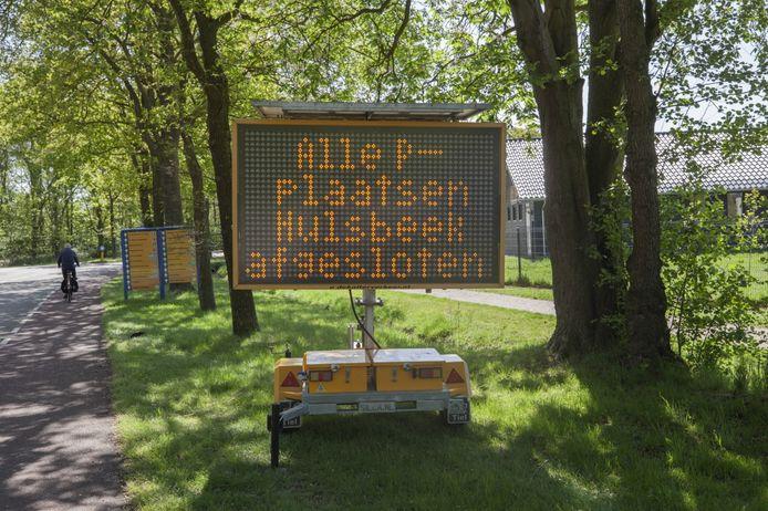 Omdat er op Hemelvaartsdag veel drukte wordt verwacht op de recreatieparken van de Regio Twente is onder meer Het Hulsbeek in Oldenzaal die dag niet toegankelijk voor dagrecreatie.