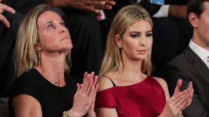 Ivanka Trump ontwerpt niet meer, maar is wel nog wandelend reclamebord voor modelijn