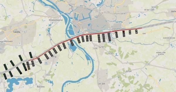 Ongeval A1 veroorzaakt 13 kilometer richting Twente.