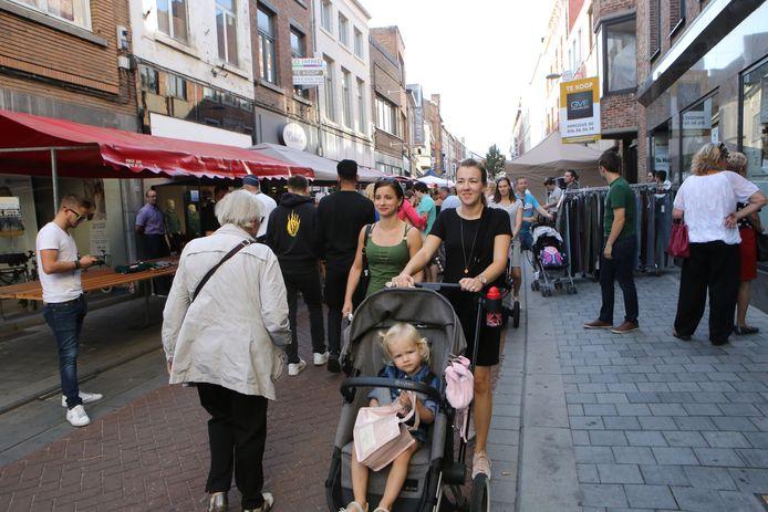 De stadsbraderie in Tienen