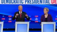 Democratische presidentskandidaten eensgezind over afzetting Trump, partijgenoten sparen opkomende Elizabeth Warren niet