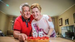 65 jaar geleden op zelfde kamer in materniteit, nu 45 jaar getrouwd
