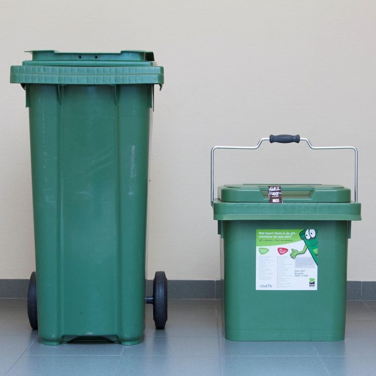 Bij afvalintercommunale Interrand kiest men midden volgend jaar voor GFT-containers.