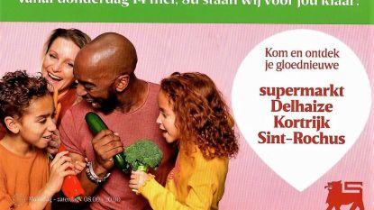 """Nieuwe Delhaize Sint-Rochus opent op 14 mei: """"Kom niet allemaal tegelijk"""""""