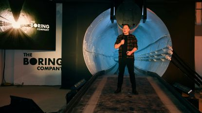 Boring Company van Elon Musk mag tunnel graven in Las Vegas