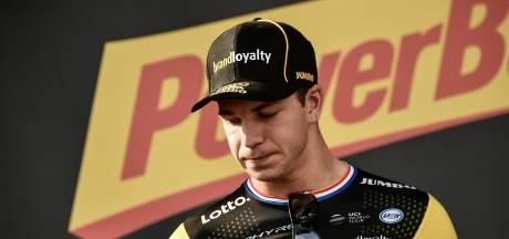 Groenewegen in tranen: 'Sorry voor mijn fout, ik denk alleen maar aan Fabio'