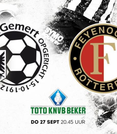 Kaarten Gemert-Feyenoord voor niet-leden