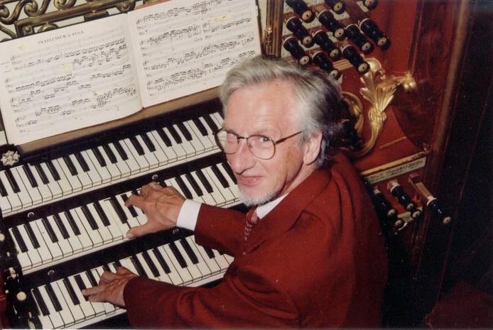 Organist Sander van Marion staat al 60 jaar bekend om zijn improvisaties.