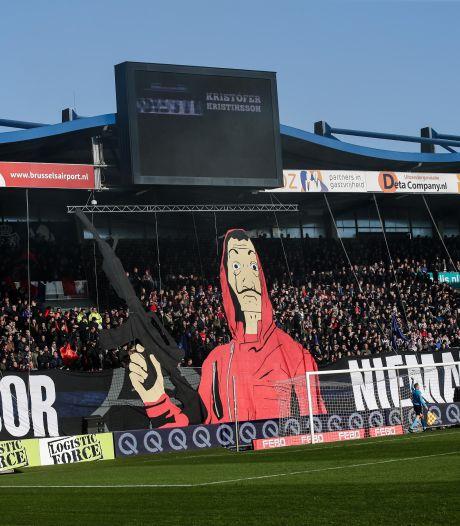 Experiment met fangeluiden in stadion bij Willem II - VVV