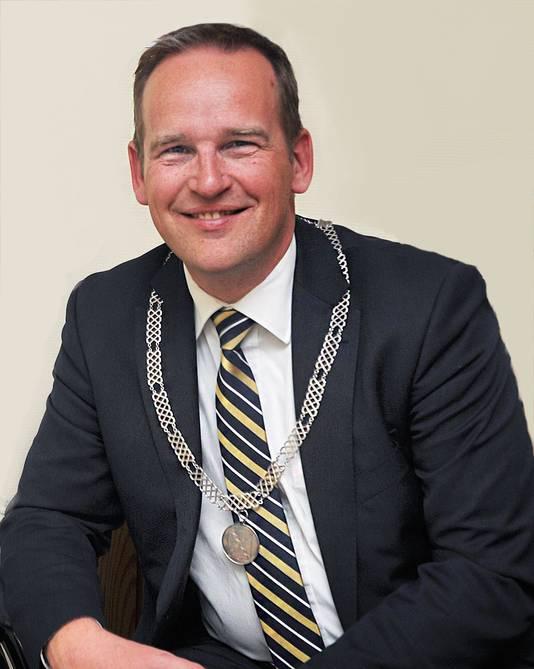 Burgemeester Bram van Hemmen van de gemeente Sliedrecht.