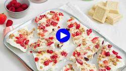 Dit is het geheim voor voedzame yoghurtrepen met fruit waar de kids van zullen smullen