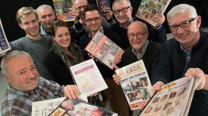 Vijf genomineerden voor de MEGA-persprijzen