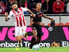 Haller schiet Eintracht Frankfurt naar zege op FC Köln