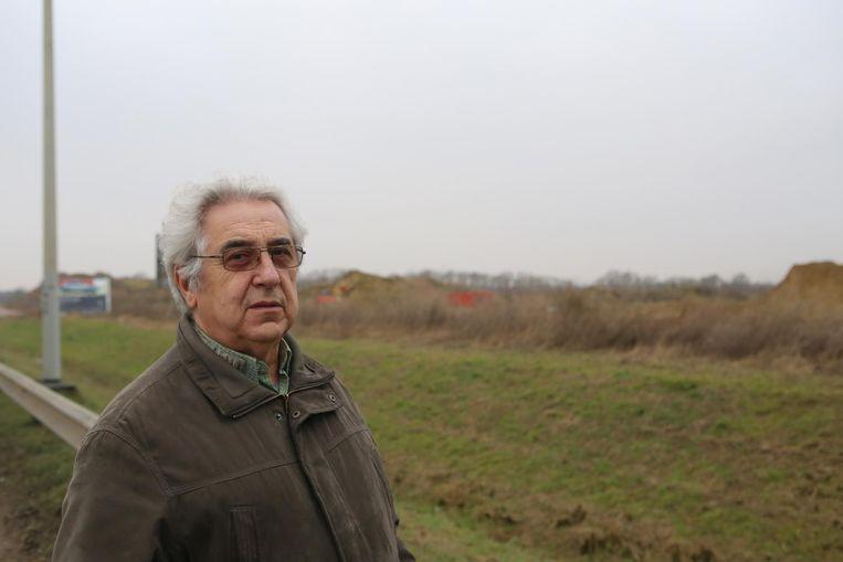 Marcel Jonckers, voorzitter van de Milieuadviesraad, en de MAR verzetten zich tegen het geplande Shell tankstation voor vrachtwagens.