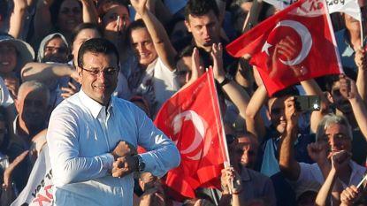 Oppositiepoliticus Imamoglu tot burgemeester van Istanboel verklaard
